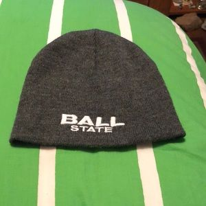 NWOT Ball State BSU beanie
